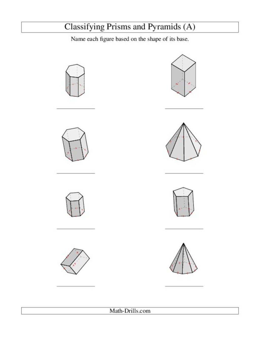 Identifying 2d Shapes Worksheets Shapes Lesson Plans & Worksheets
