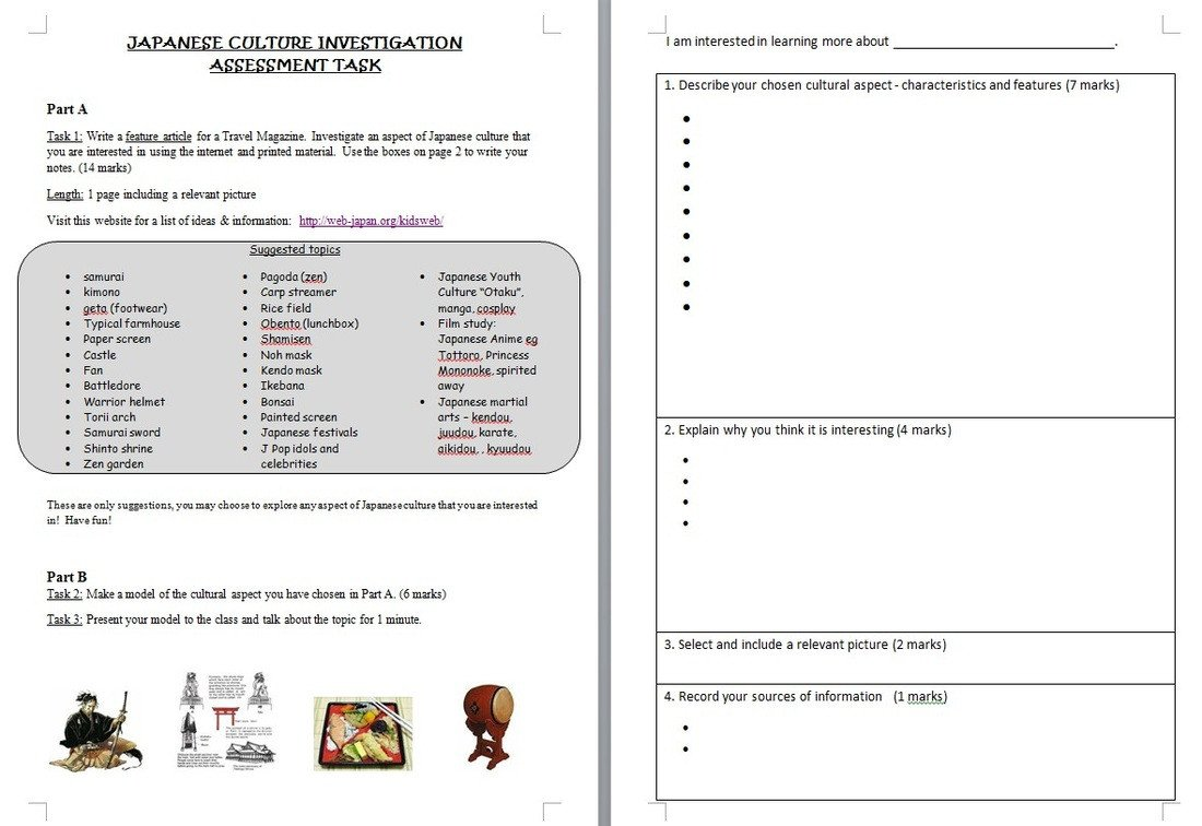 Japanese Worksheets Printable Festivals & Culture Japanese Teaching Ideas