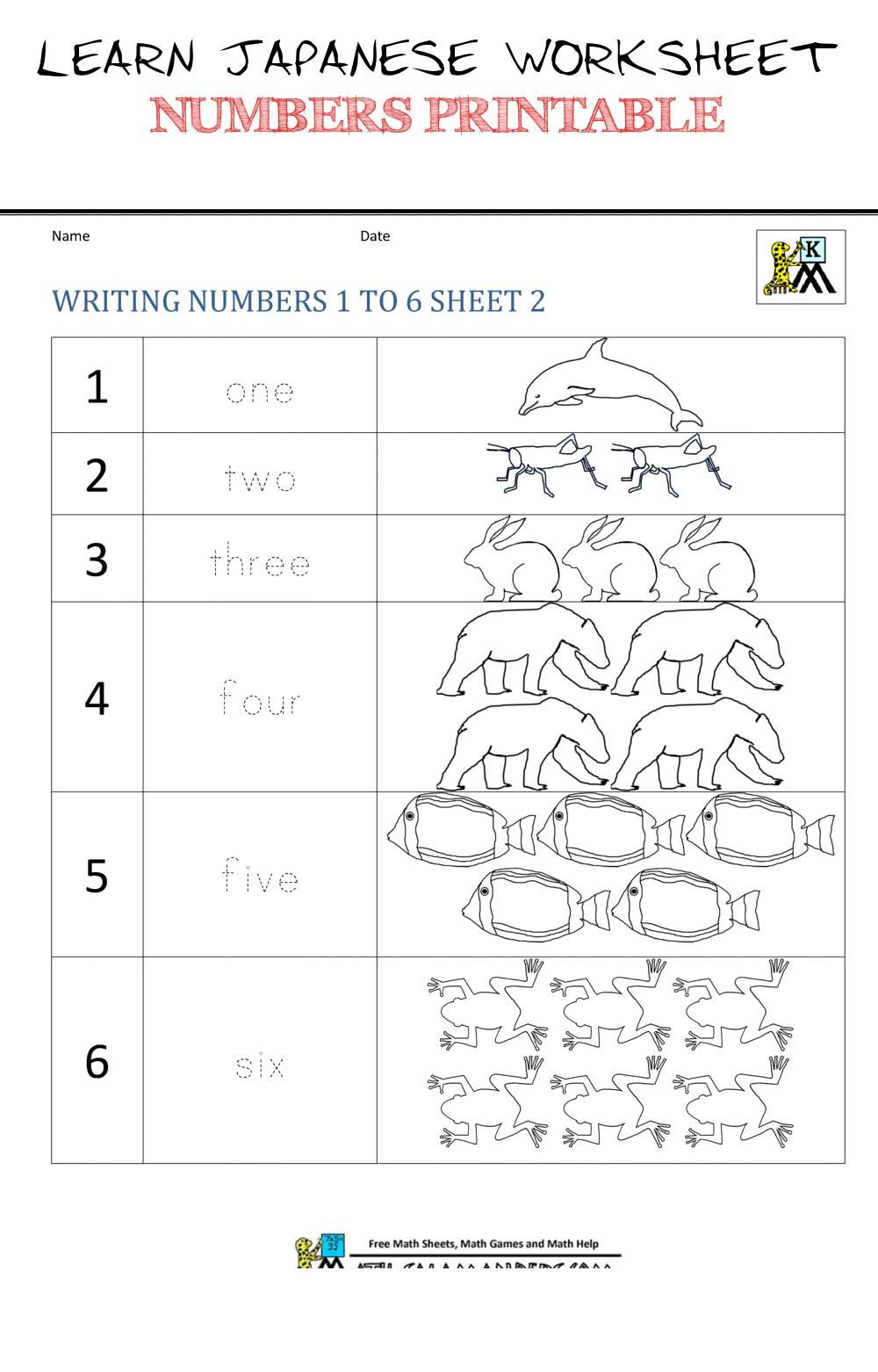 learn japanese worksheet numbers printable kindergarten number worksheets of learn japanese worksheet numbers printable pin