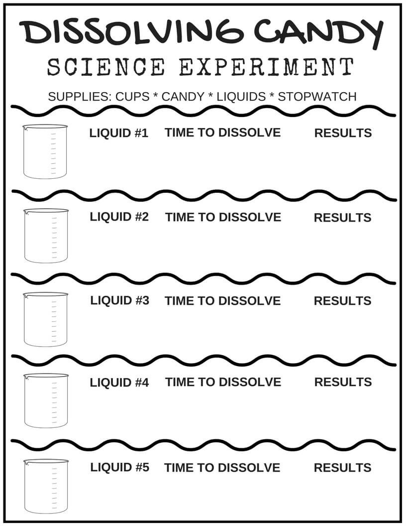Kindergarten Science Worksheets Free Free Science Worksheets for Kids Little Bins Hands Printable