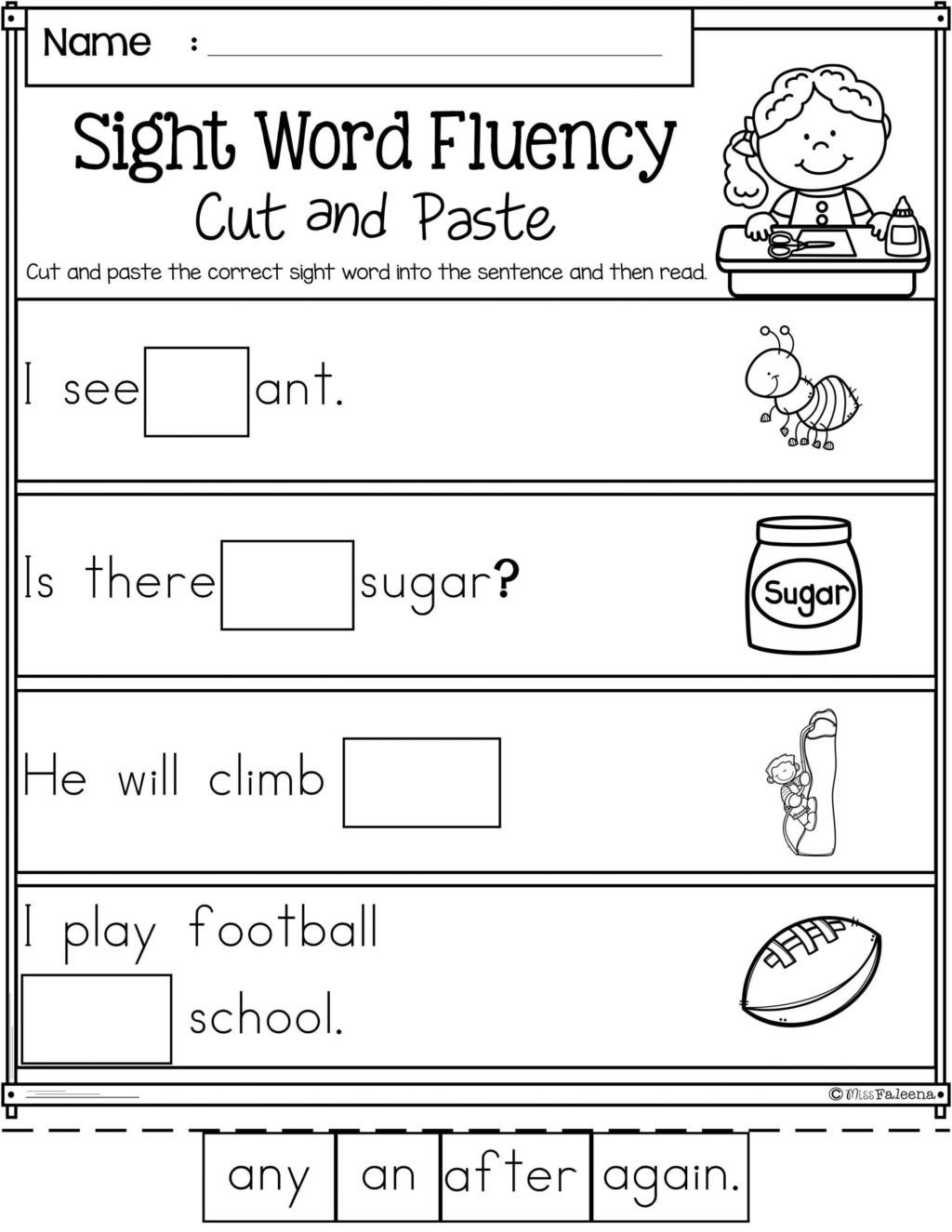 Kindergarten sorting Worksheets Worksheet 1st Grade Reading Passages Worskheetset Ideas