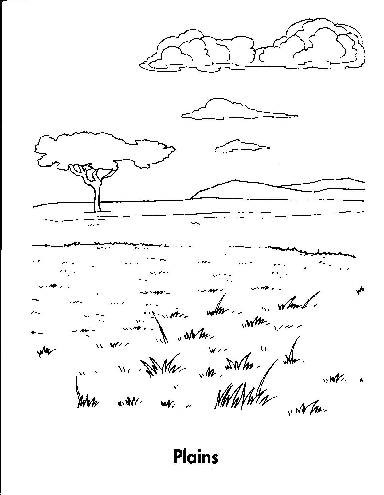 Landforms Worksheet for Kindergarten Habitat Connect the Dots Google Search