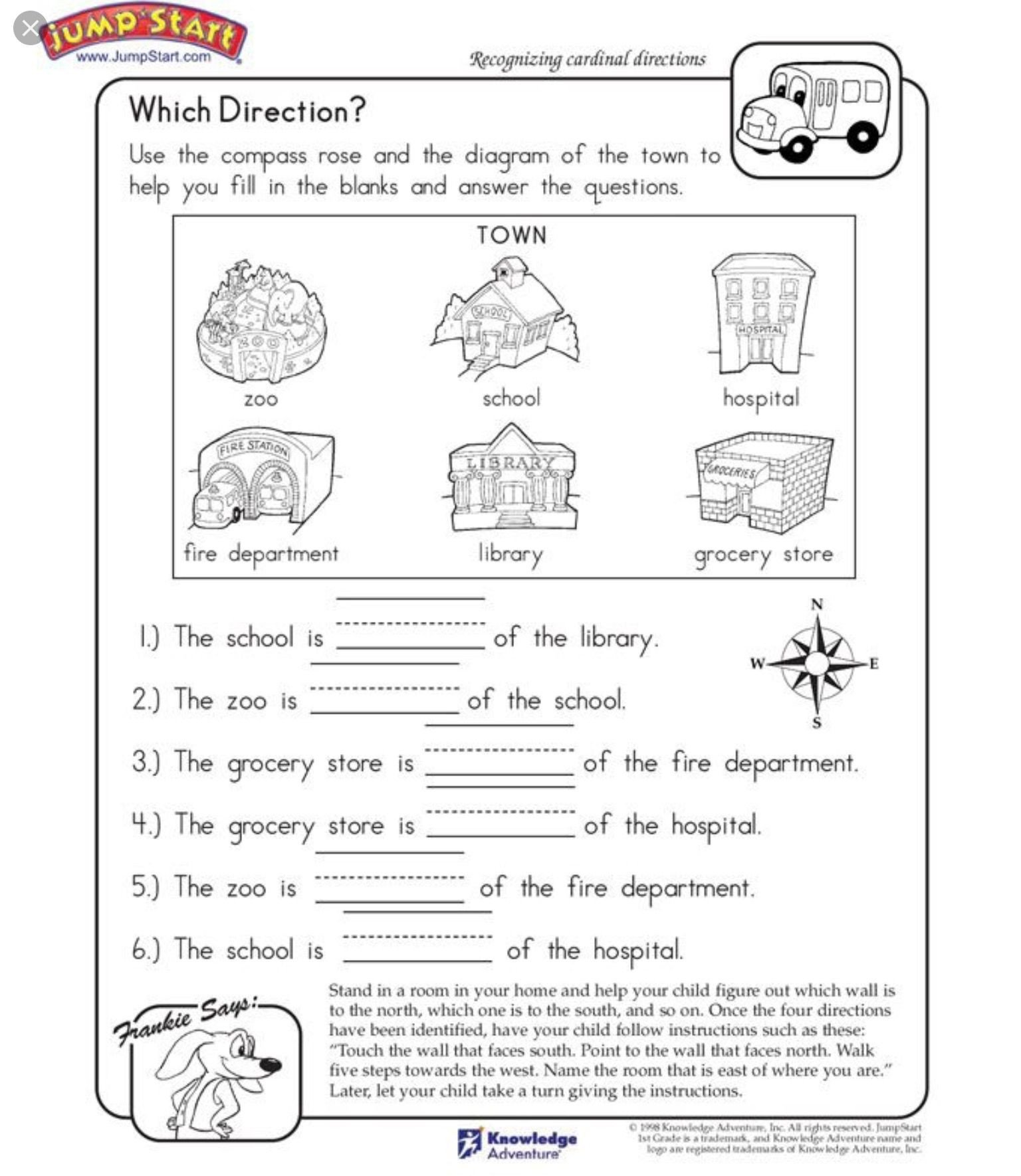 Landforms Worksheet for Kindergarten Pin by Kat Lightsey On Homework