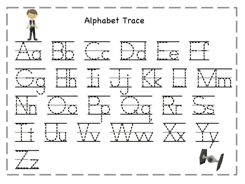 Letter and Number Tracing Worksheets Worksheet Letter Tracing Worksheets Letters for Kids