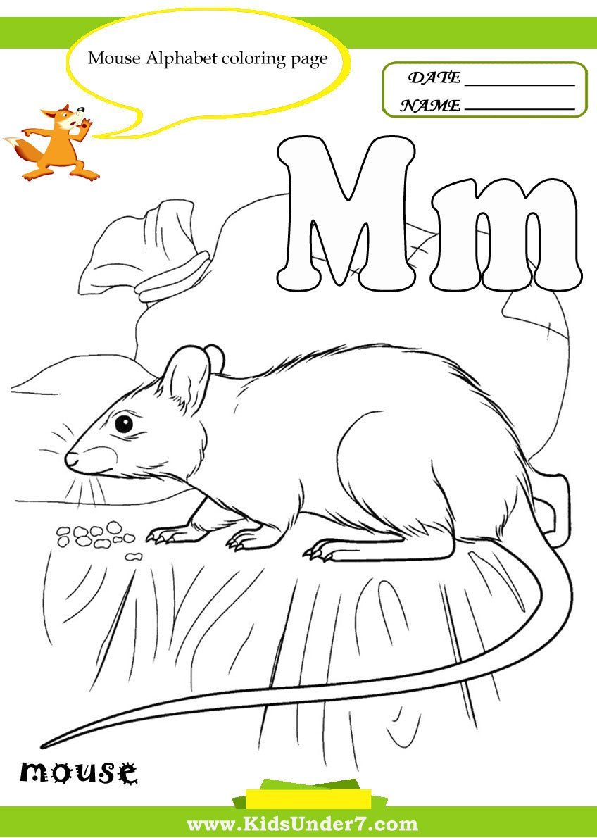 Letter M Worksheets Kindergarten Kids Under 7 Letter M Worksheets and Coloring Pages
