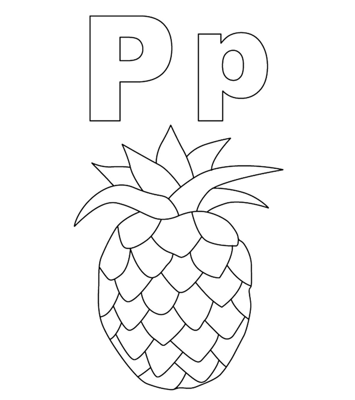 Letter P Worksheets for toddlers top 10 Free Printable Letter P Coloring Pages Line
