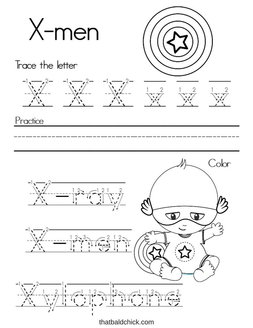 Letter X Worksheets for Preschoolers Worksheet Worksheet Letter X Alphabet Writing Practice