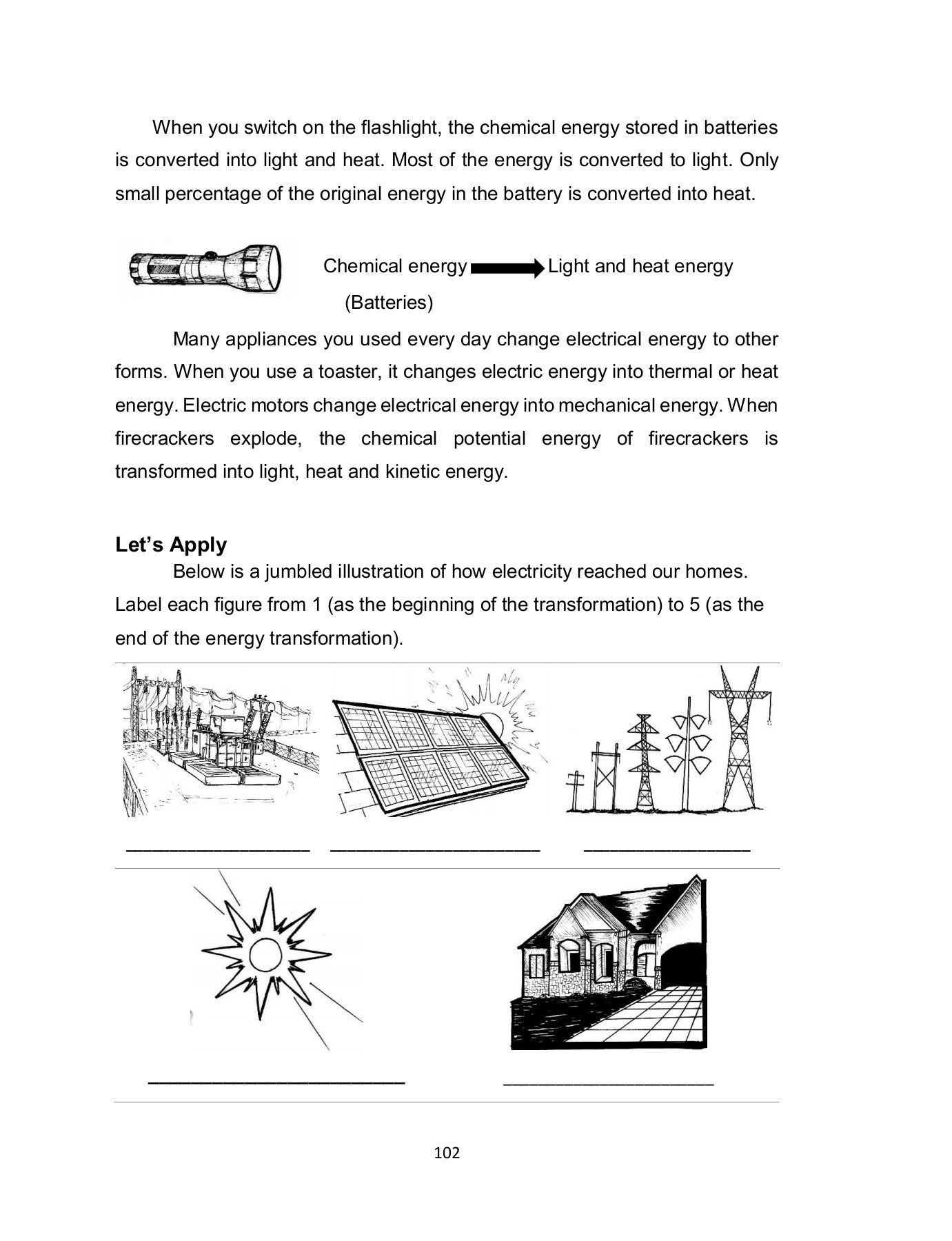 Light Energy Worksheets Science 6 Worksheets Pages 101 150 Text Version