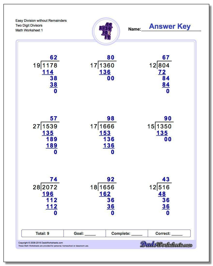Long Division Decimals Worksheet the Long Division Worksheets In This Section Of the Site are