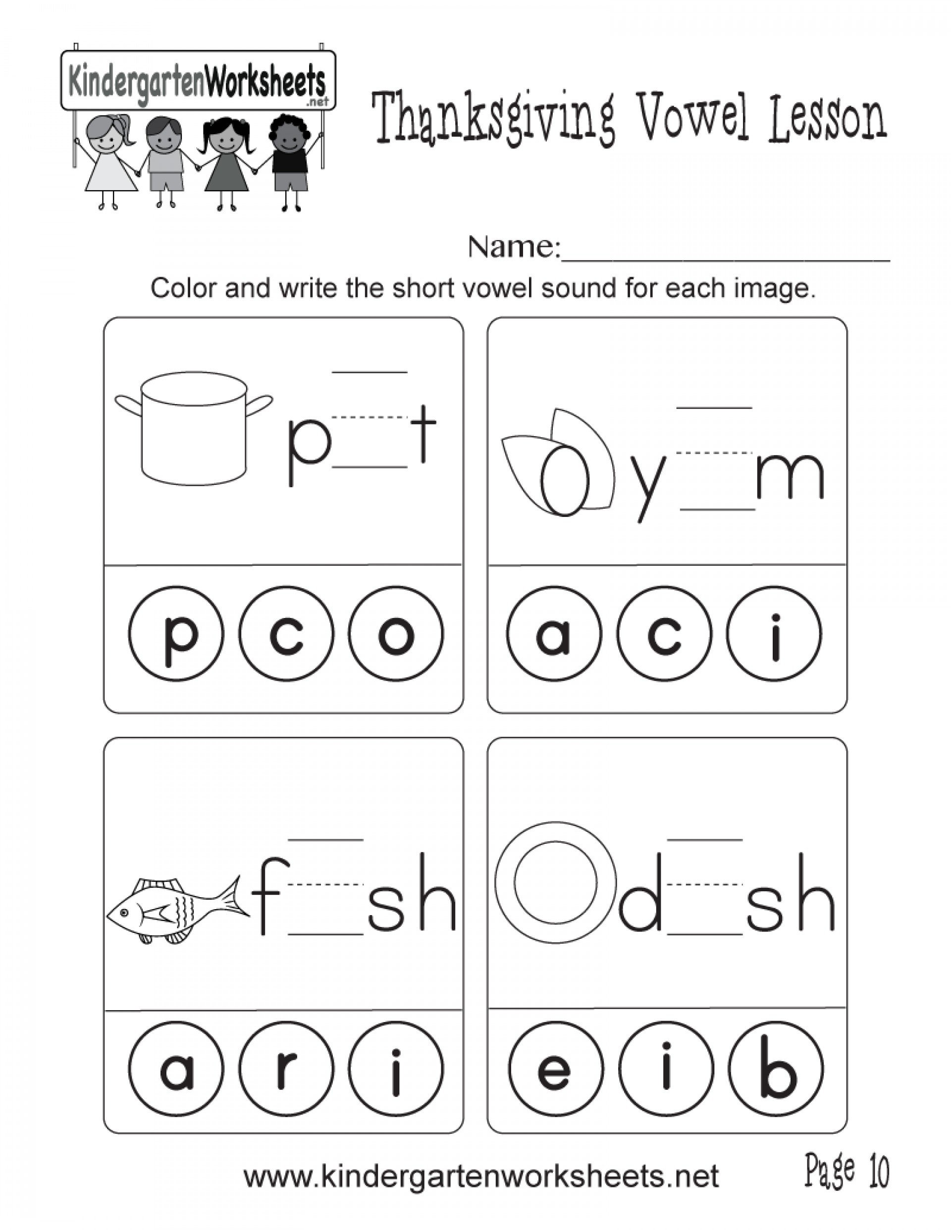 Long Vowel Worksheets for Kindergarten Math Worksheet Printable Short Vowel Worksheets 1st Grade
