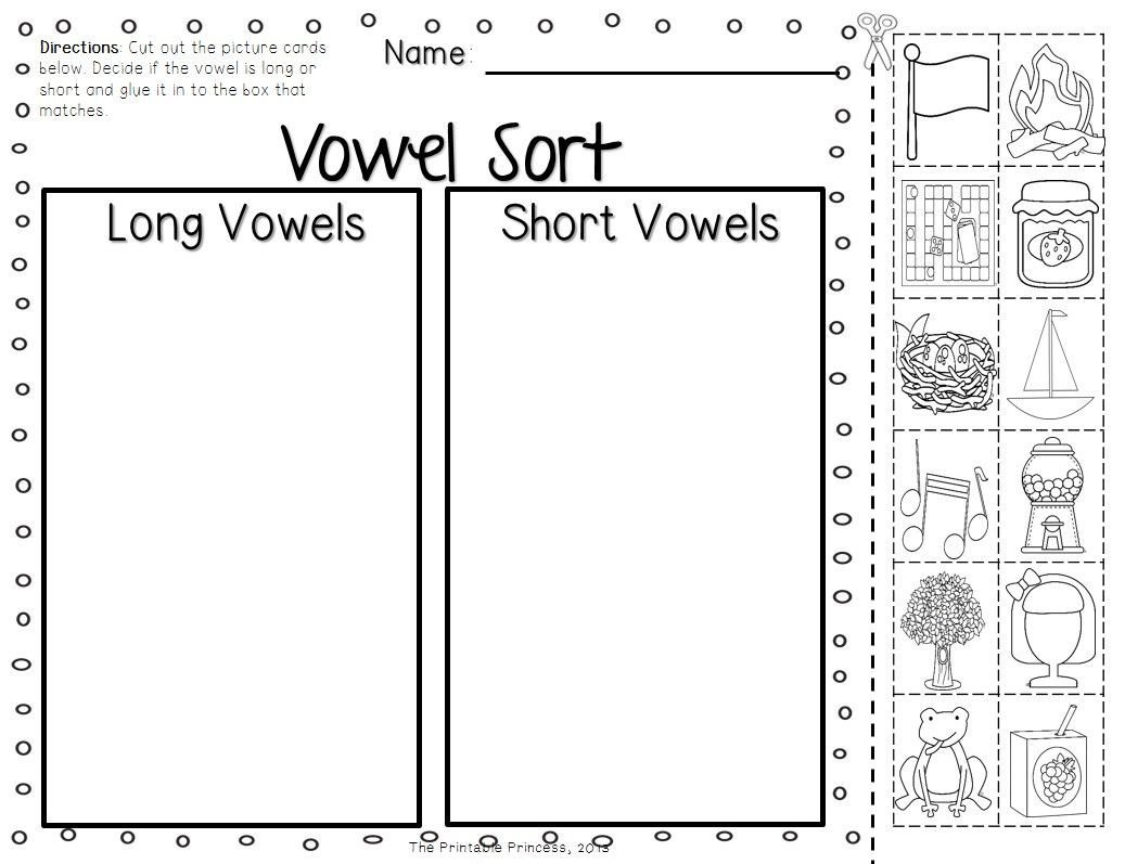 Long Vowel Worksheets for Kindergarten tons Of Picture Cards sorting Mats Activities and