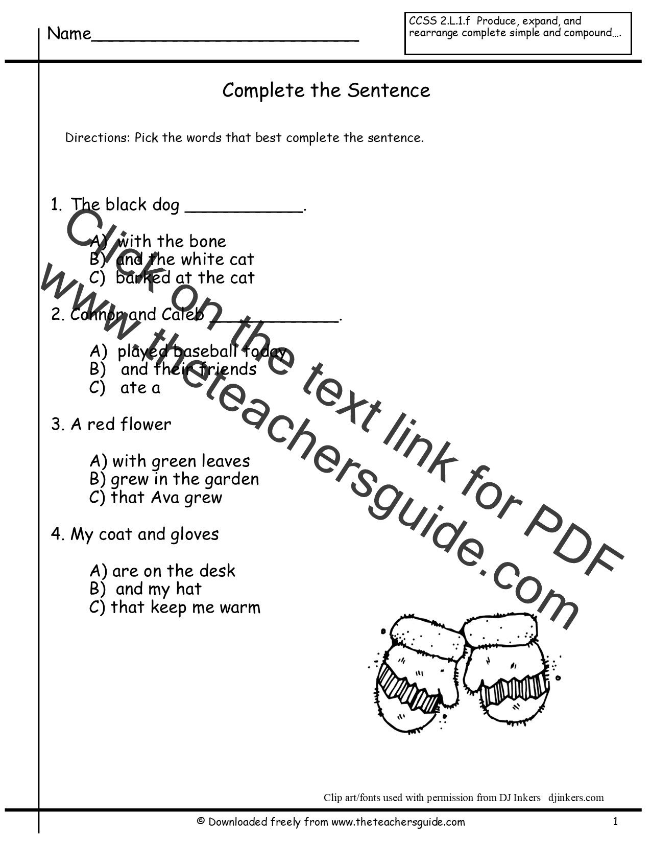 Making Compound Sentences Worksheets Joining Words Worksheet for Grade 2