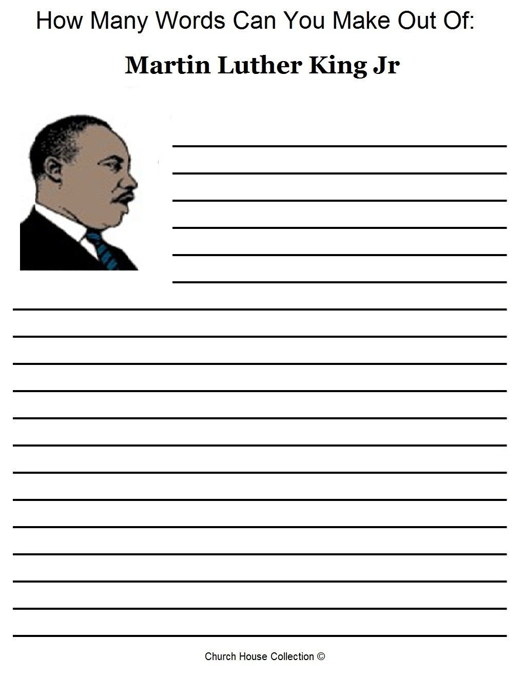 freertin luther king worksheets photo ideas elementary activities books