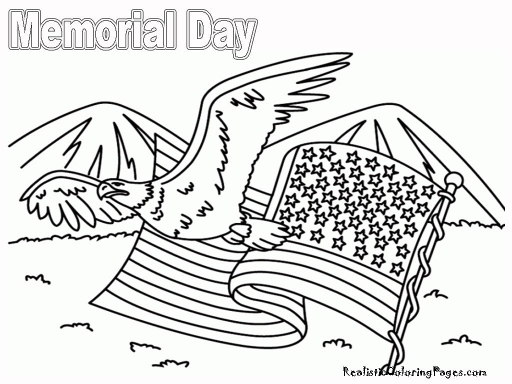 Memorial Day Worksheets for Kids 11 Coloring Pictures Memorial Day Print Color Craft