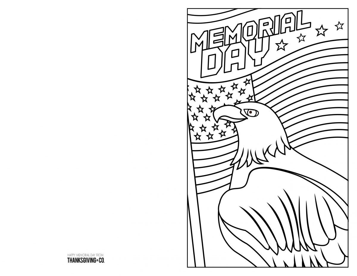 Memorial Day Worksheets Free Free Memorial Day Coloring Pages & Cards You Can Print at Home