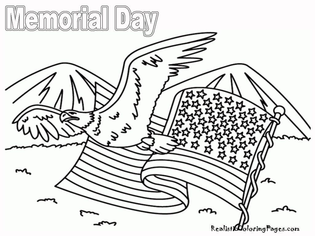 Memorial Day Worksheets Free Memorial Day Coloring Pages