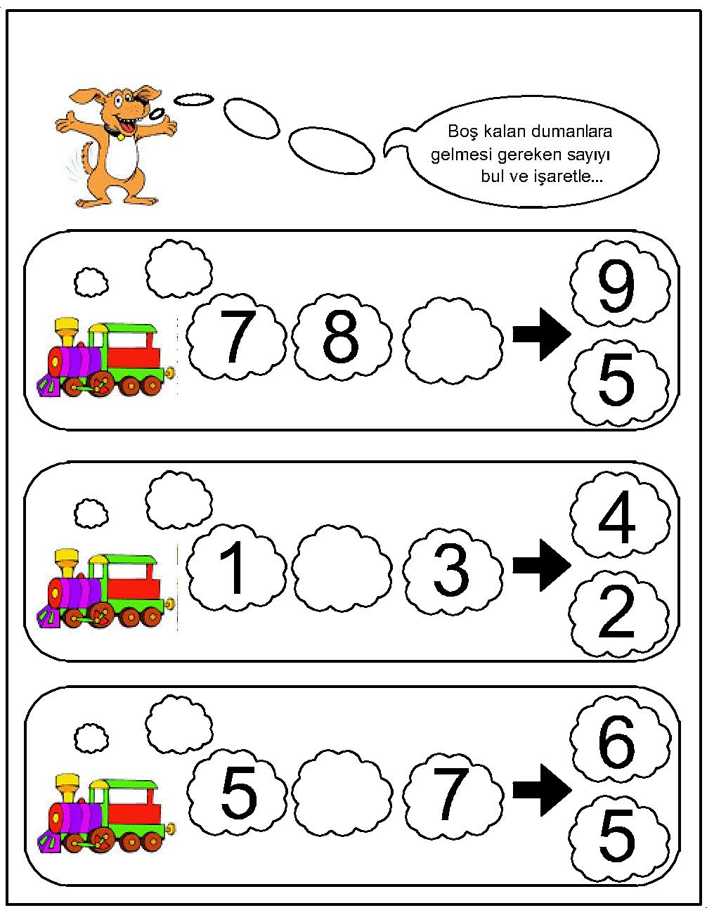 missing number worksheet for kids 20