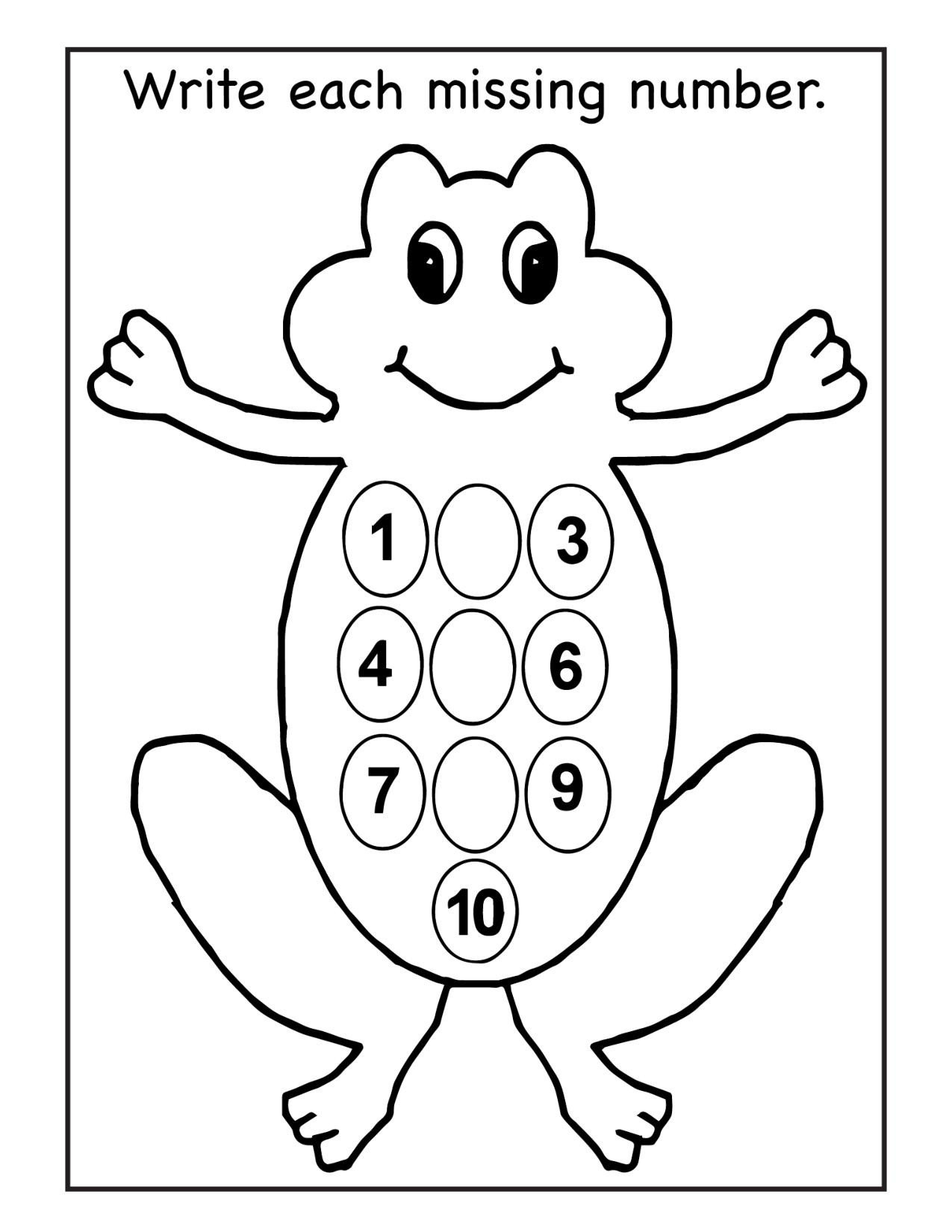 Missing Number Worksheets 1 10 Missing Numbers Archives Lesson Tutor Number Writing
