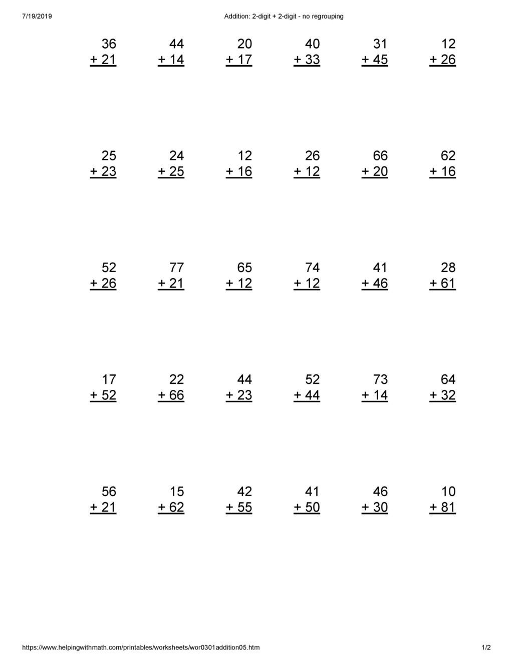 addition worksheets for grade 3 archives you calendars