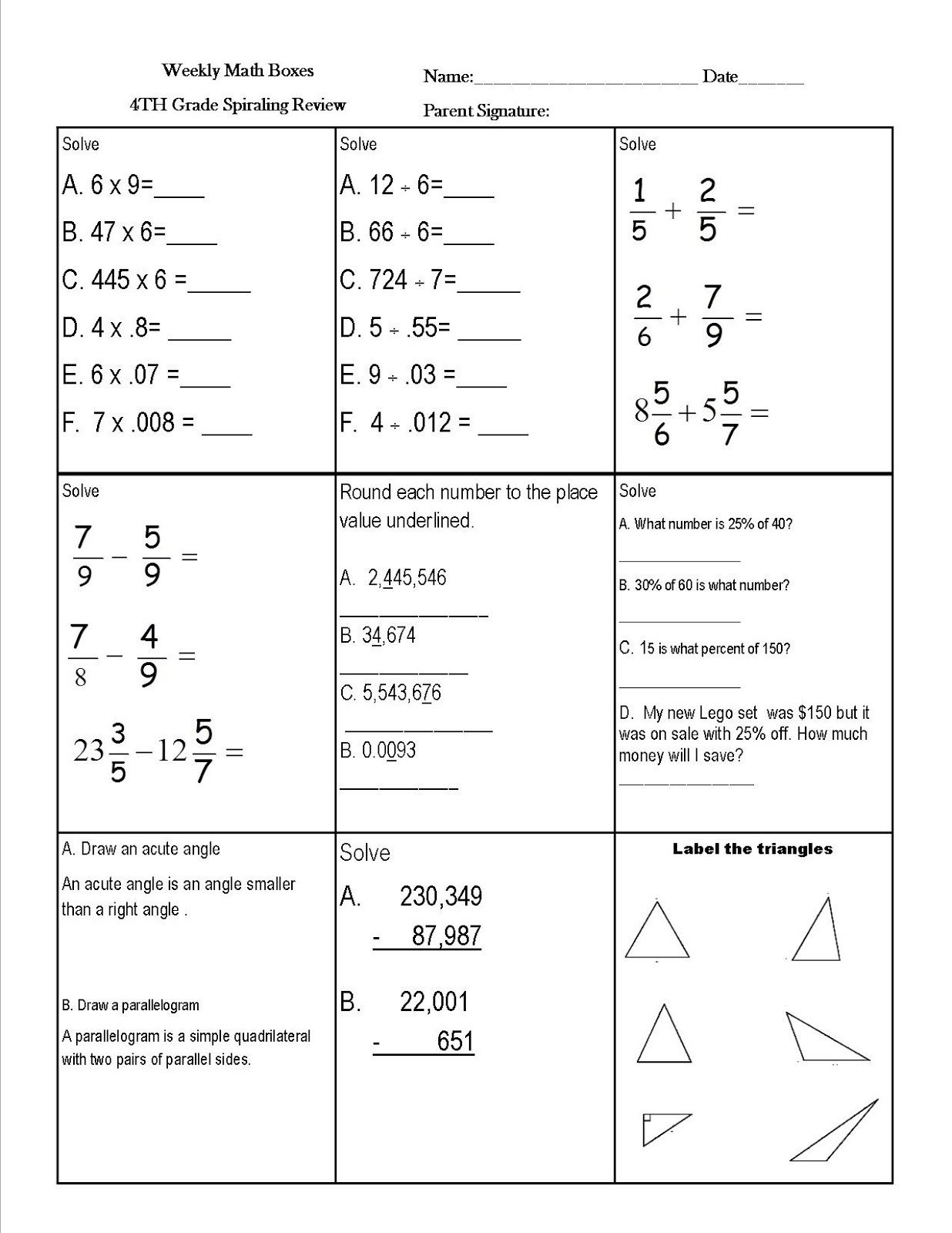 Nwea Test Prep Worksheets Reading Sage How to Raise Map Math Scores