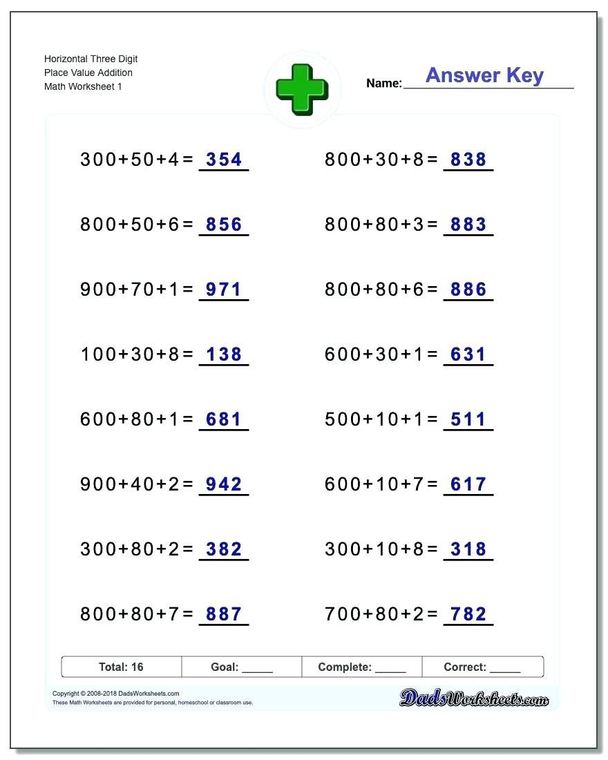 place value worksheets 3rd grade to printable place value 2