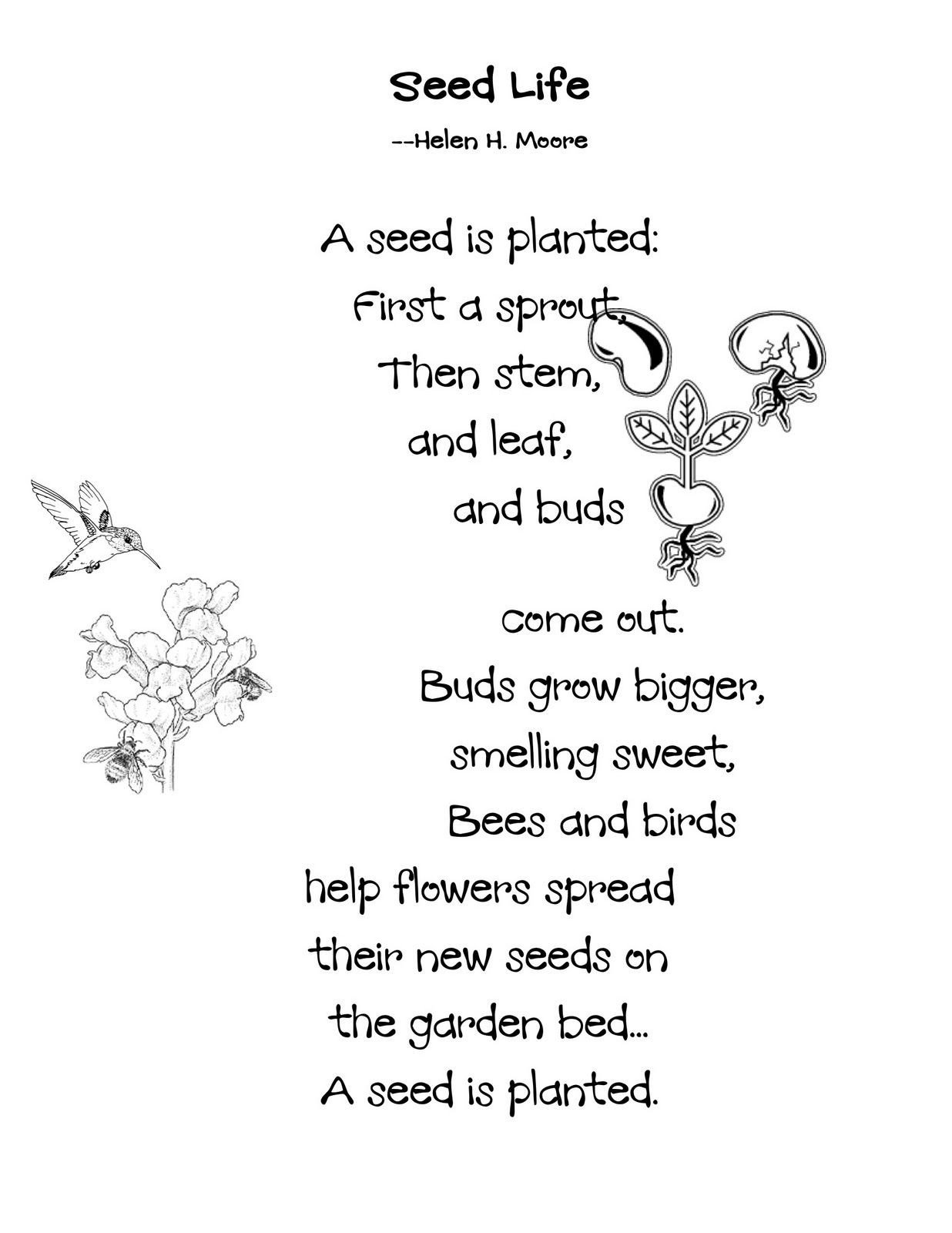 Poetry Practice Worksheets Poem Worksheet 4th Grade Printable Worksheets and Activities