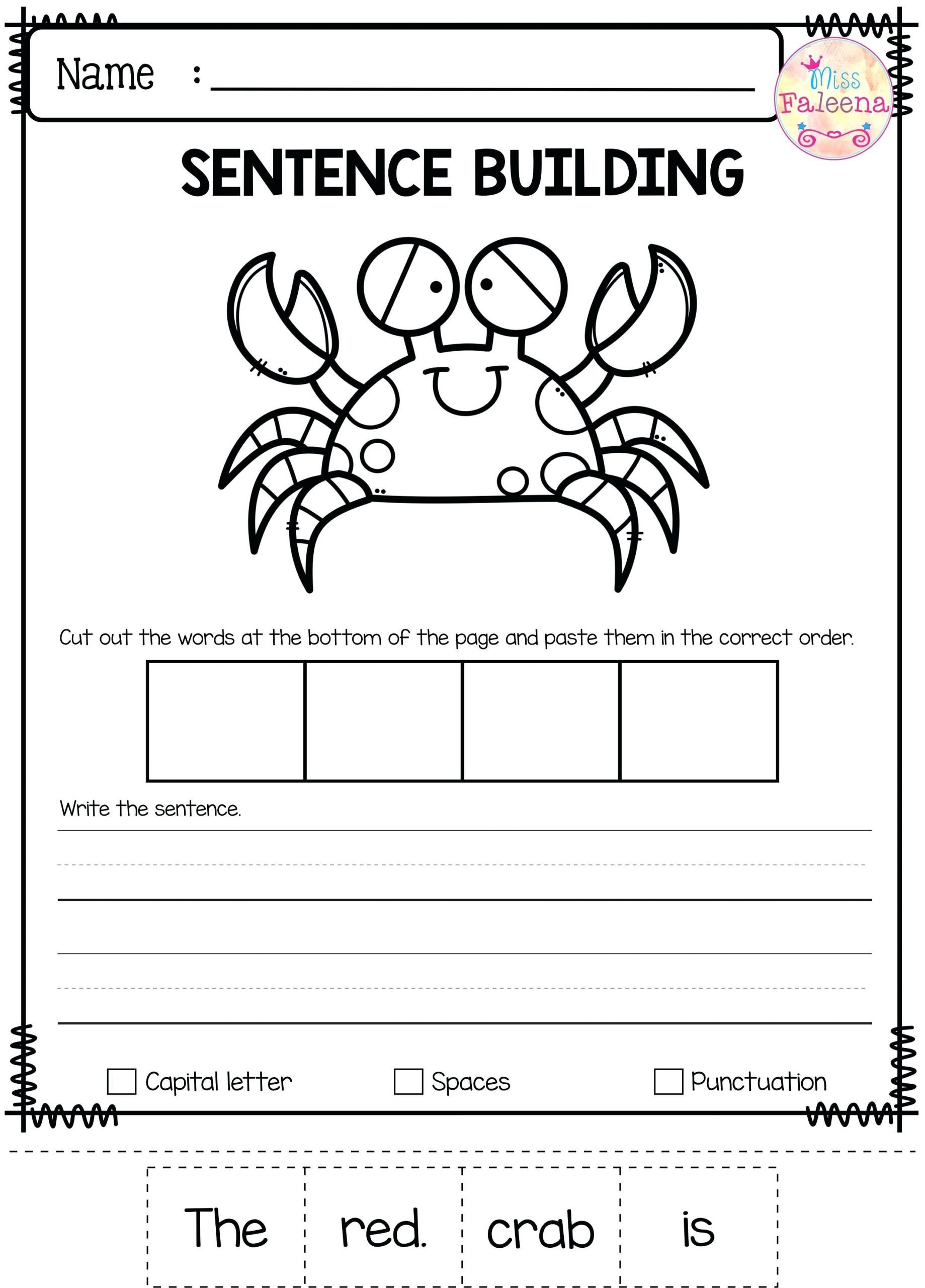 Positional Word Worksheets Positional Words Worksheets