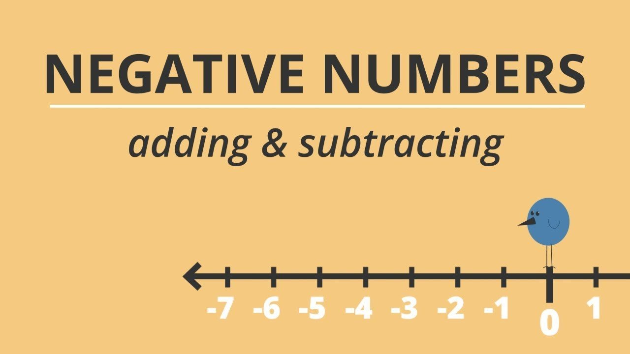 Positive and Negative Number Worksheets A Trick for Adding and Subtracting Negative Numbers