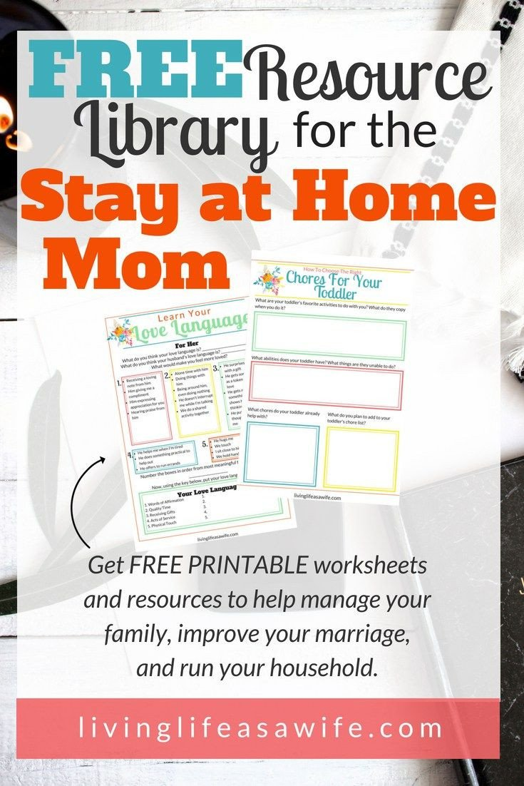 Positive Parenting Worksheets Resource Library