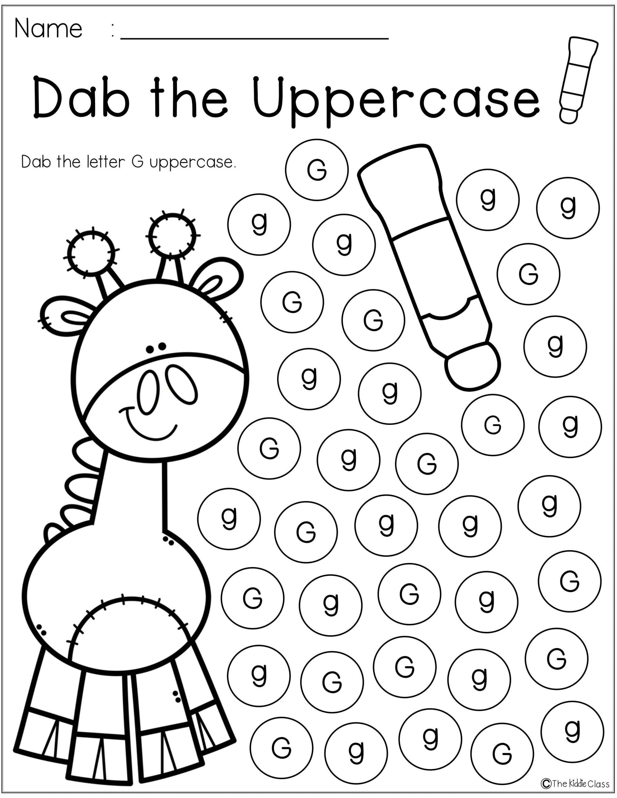 Preschool Letter G Worksheets Letter Of the Week G is Perfect for the Beginning Of the