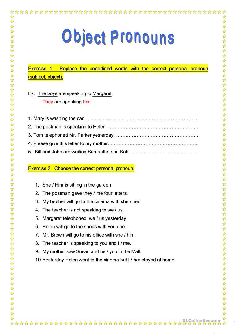 Pronoun Worksheets 5th Grade 8th Grade Questions and Answers Ereading Worksheets