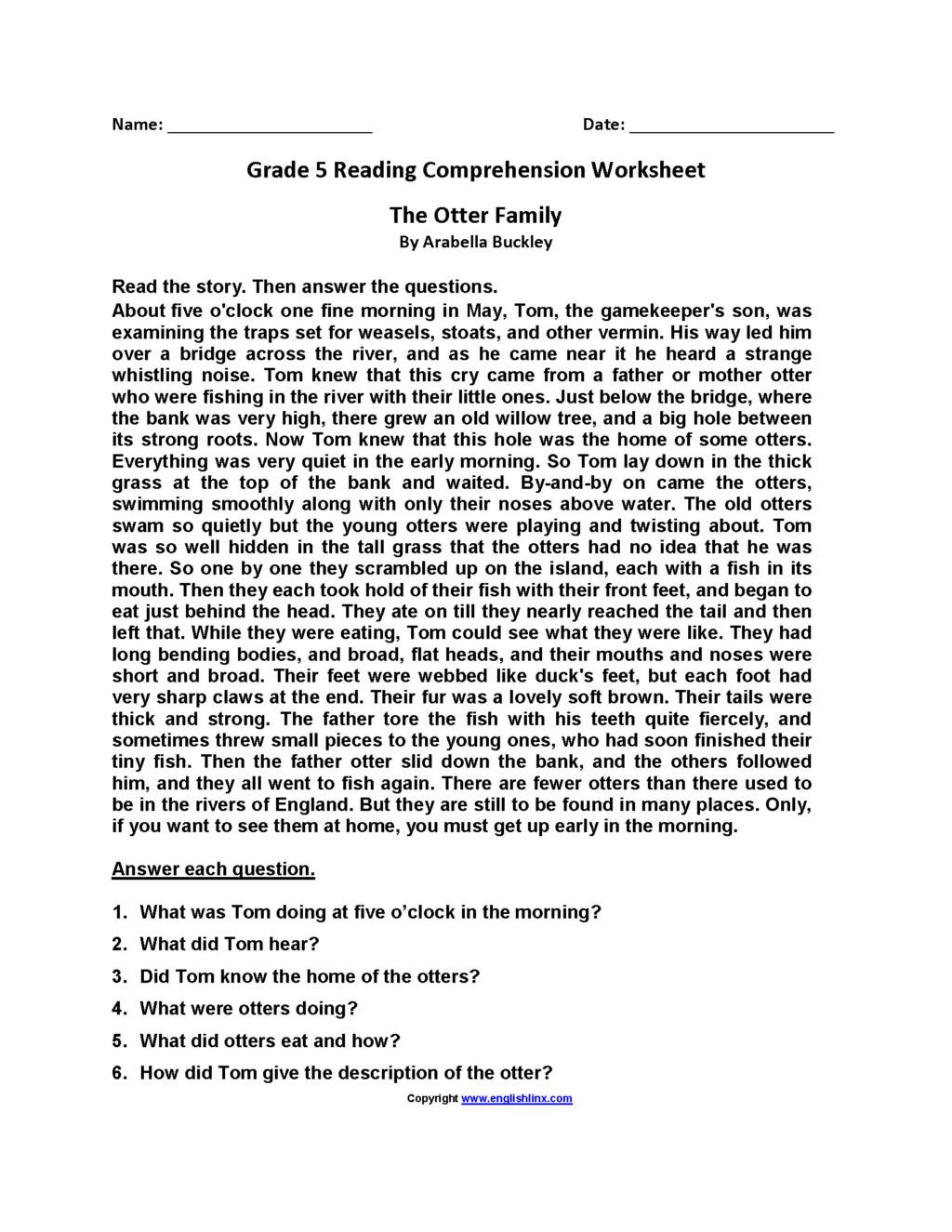 Reading A Ruler Worksheet Answers Worksheet Third Grade Reading Passage and Prehension