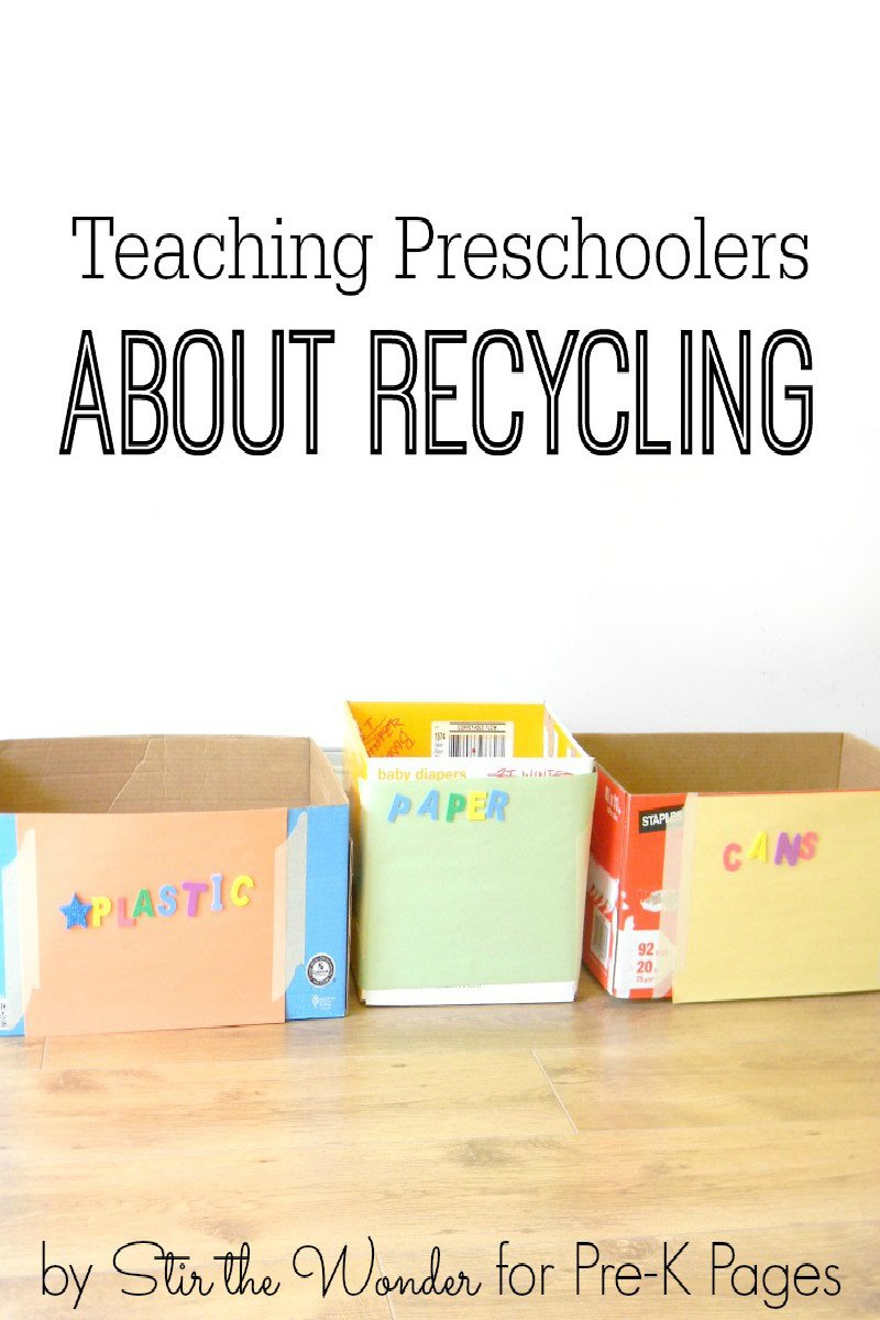 Recycling Worksheets for Kindergarten Teaching Preschoolers About Recycling Pre K Pages