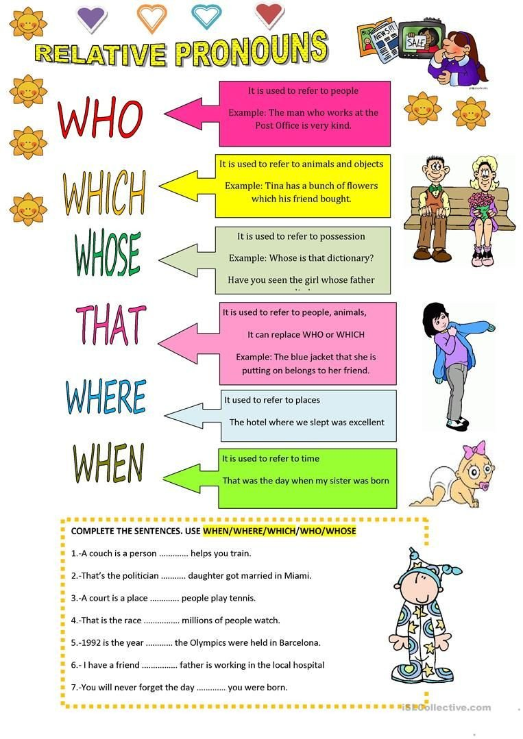 Relative Adverbs Worksheet 4th Grade Relative Pronouns Worksheet Free Esl Printable Worksheets