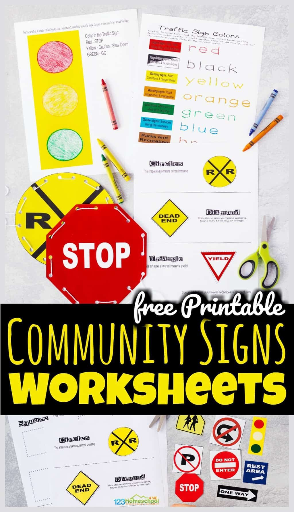 Safety Signs Worksheets Free Free Printable Munity Signs Worksheets
