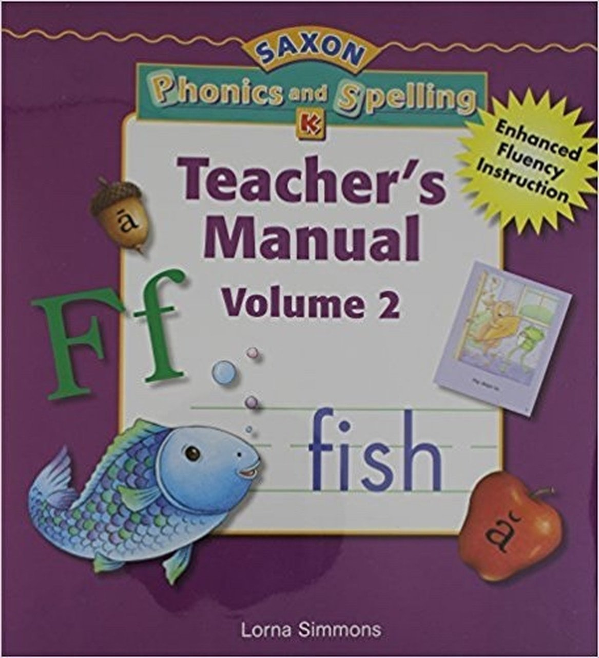 Saxon Phonics Kindergarten Worksheets Kindergarten Saxon Phonics & Spelling Teacher Edition Volume 2
