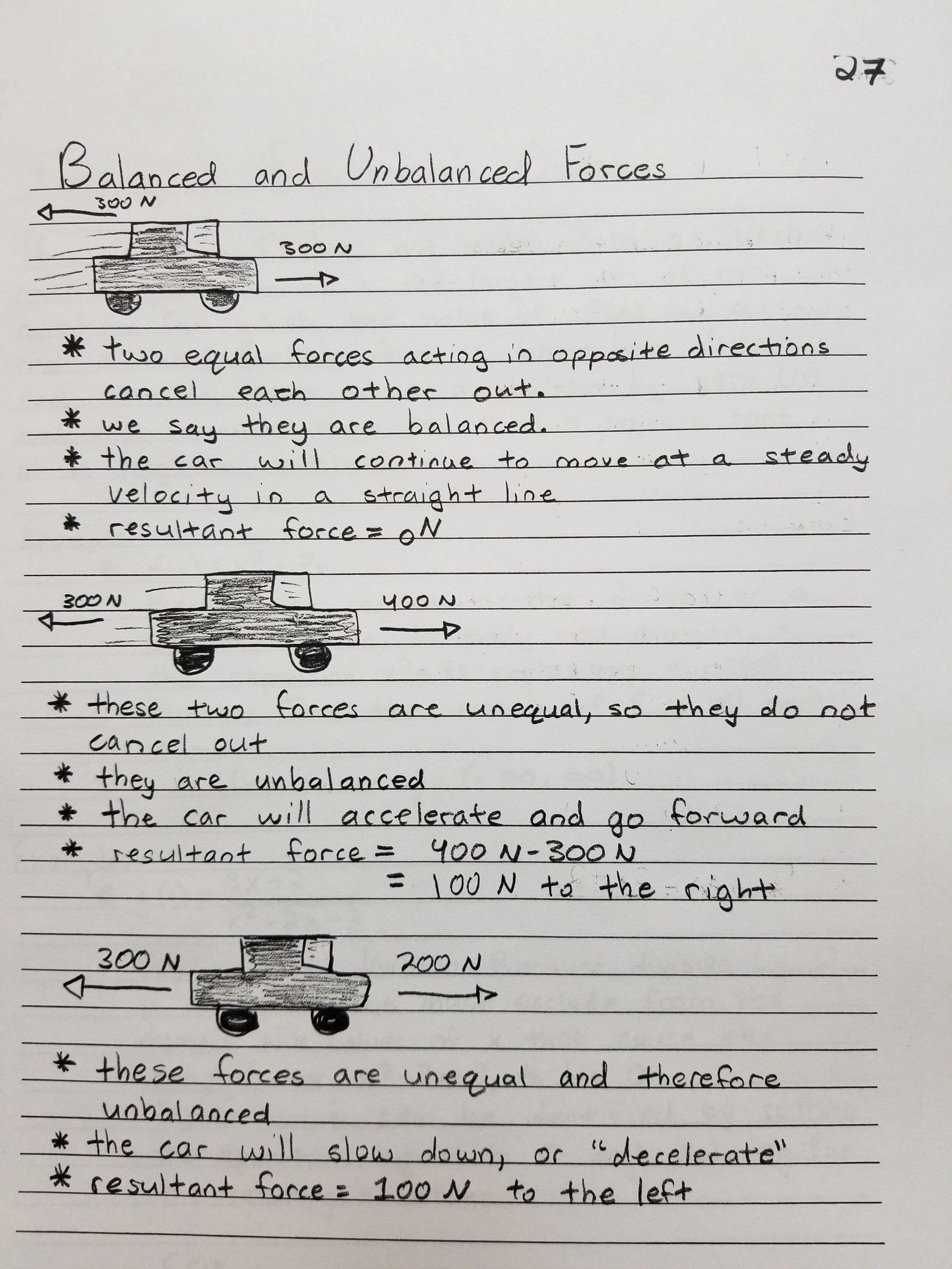 Science forces and Motion Worksheets force and Motion Worksheet Answers Balanced and Unbalanced