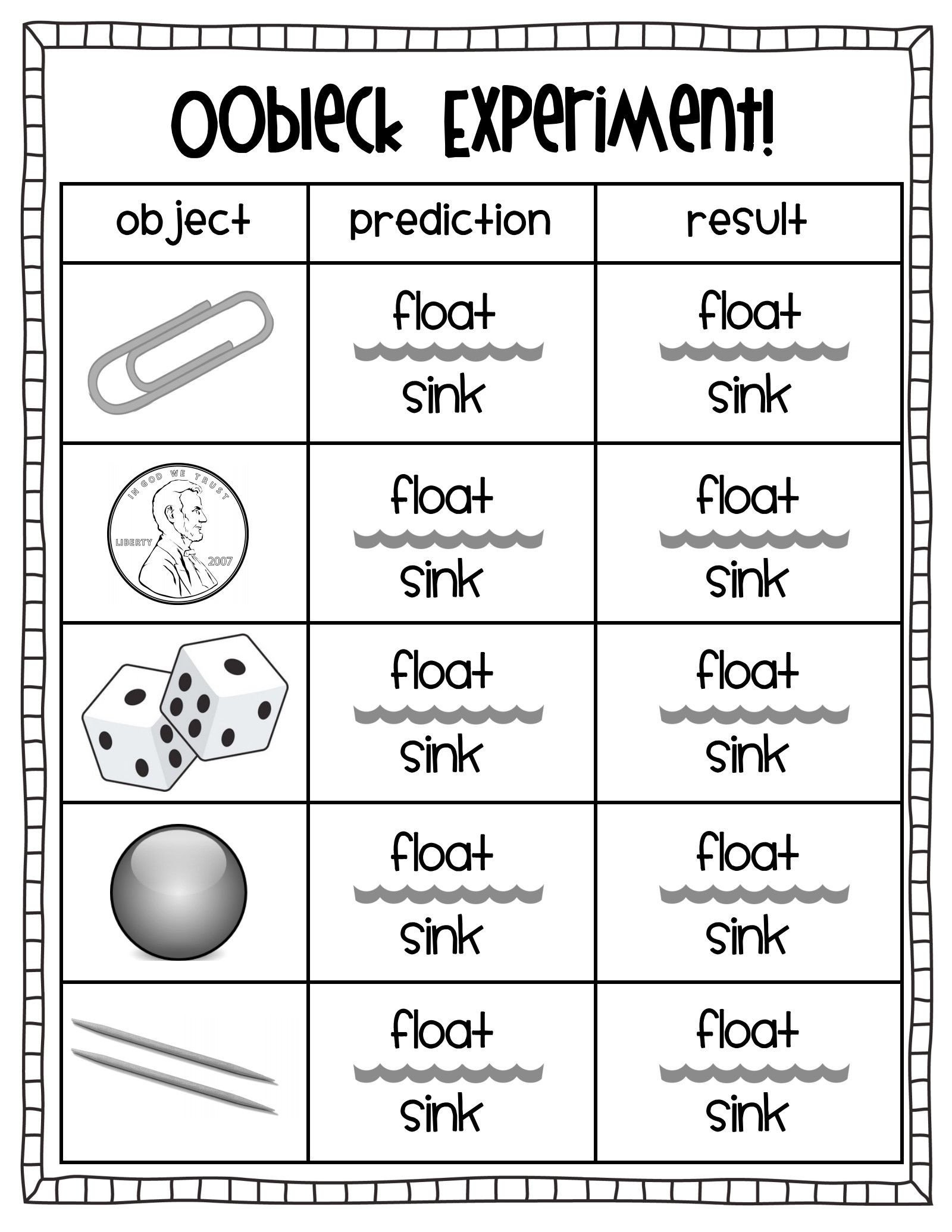 Science Worksheet 1st Grade 1st Grade Science Worksheets Printable