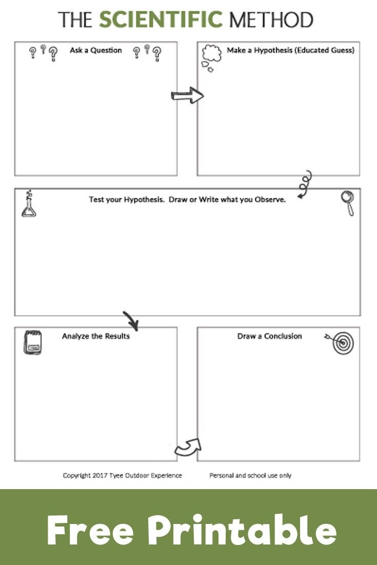 Scientific Method for Kids Worksheets Help Kids Explore the Scienctific Method with This Free