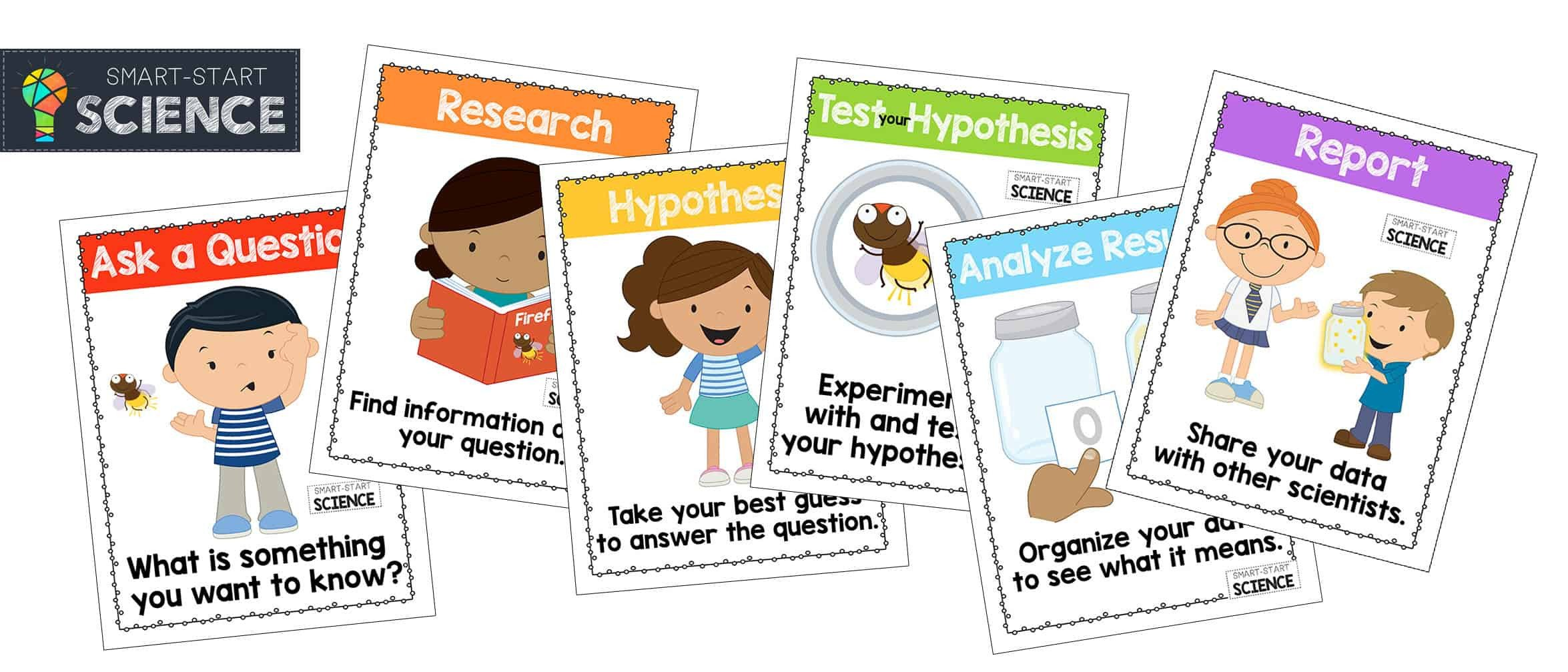 Scientific Method for Kids Worksheets Scientific Method Printables