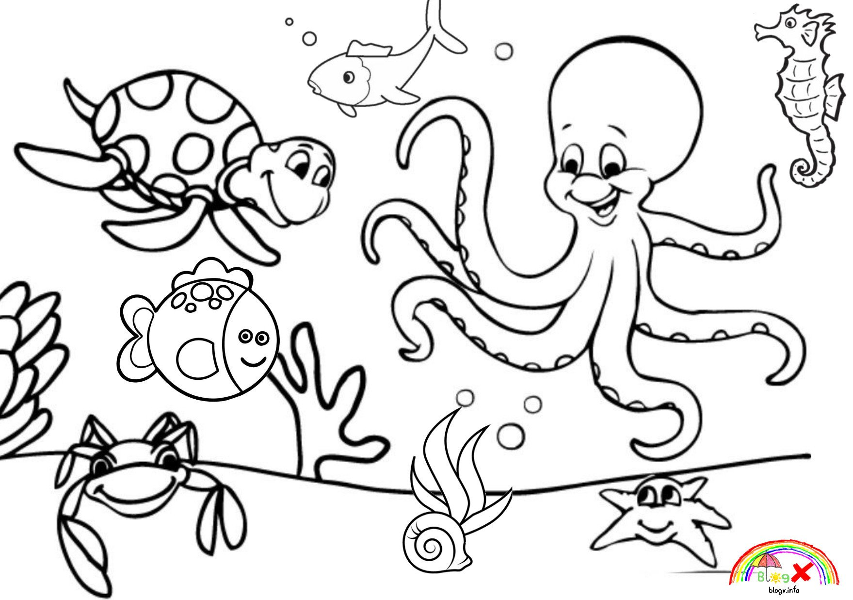 Sea Animal Worksheets 5 Animals Worksheets for Kids Sea Apocalomegaproductions