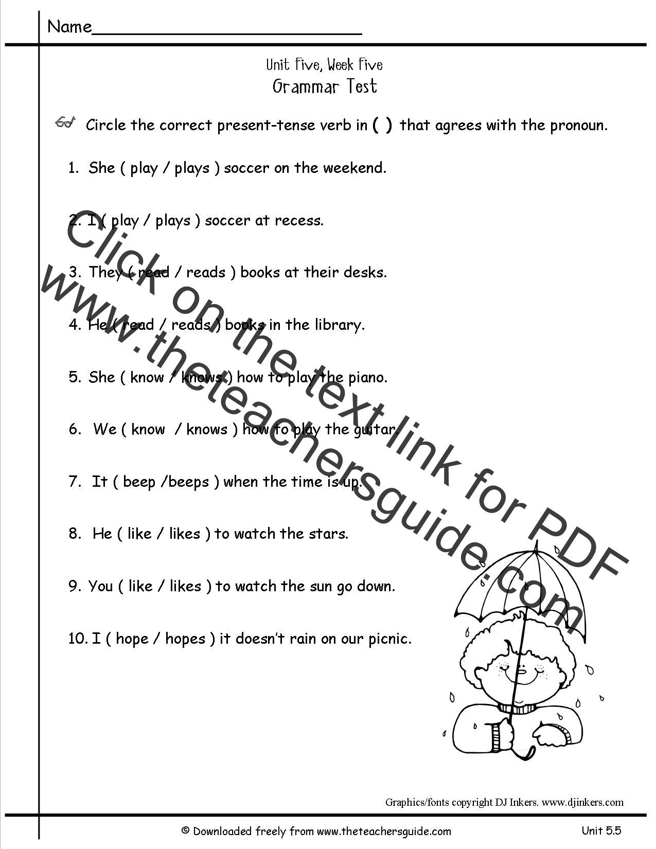 Second Grade Pronouns Worksheet Pronoun Worksheets 2nd Grade