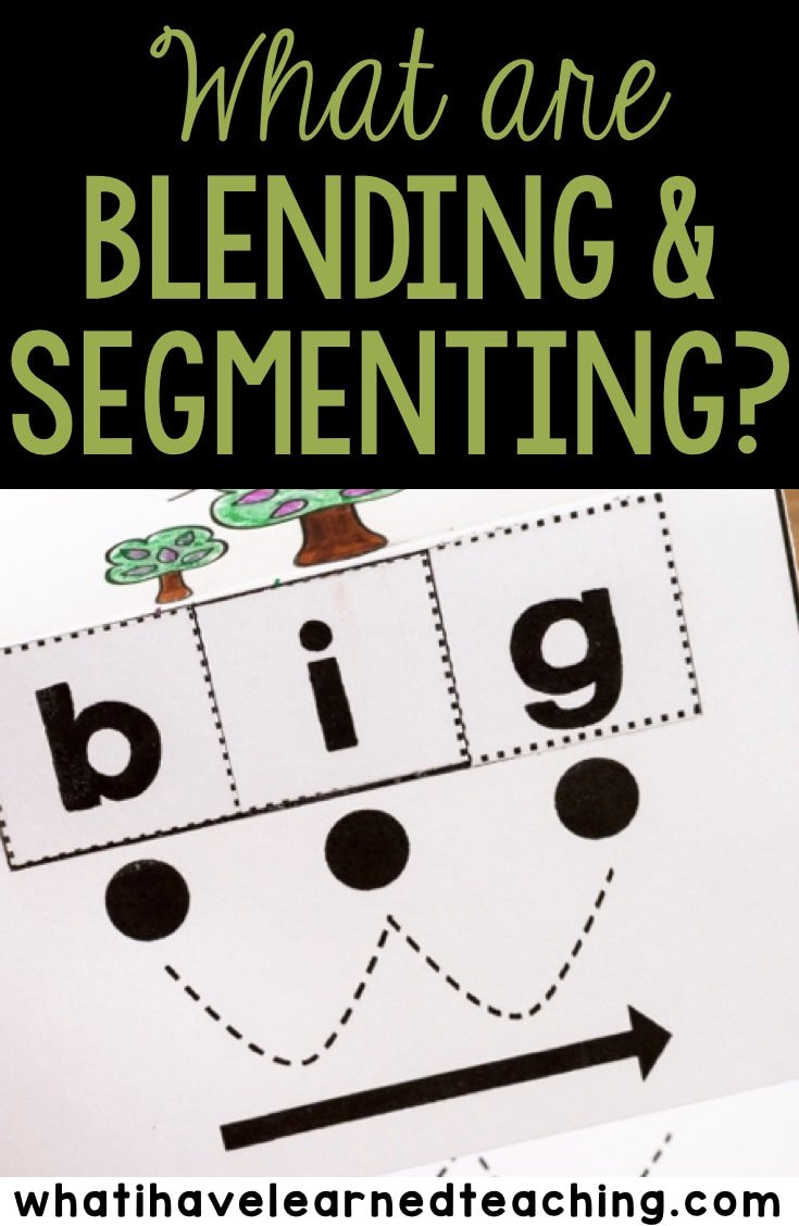 Segmenting Words Worksheets Tips for Student Success when Blending and Segmenting Words