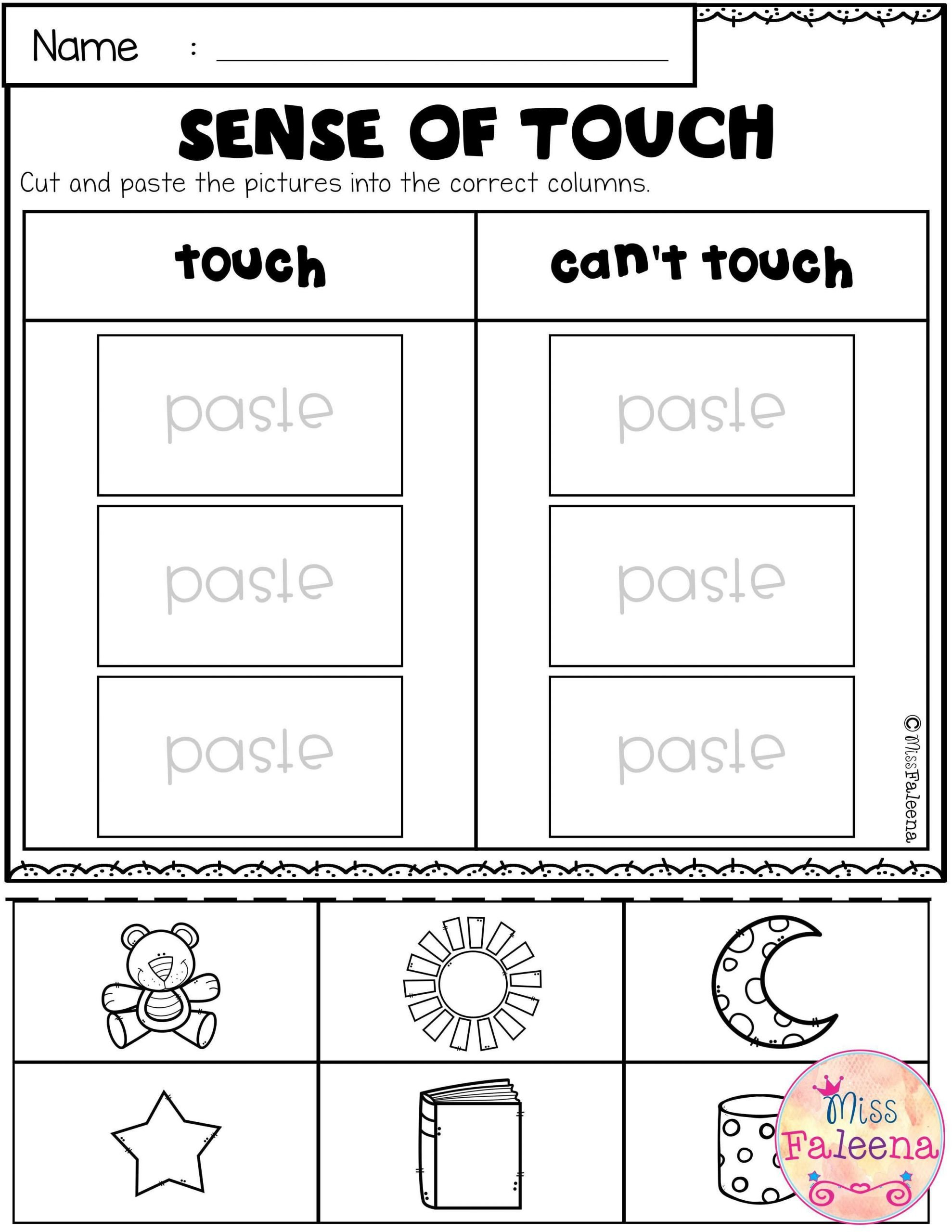 Sense Of Sight Worksheets Pin On Activities with Kids