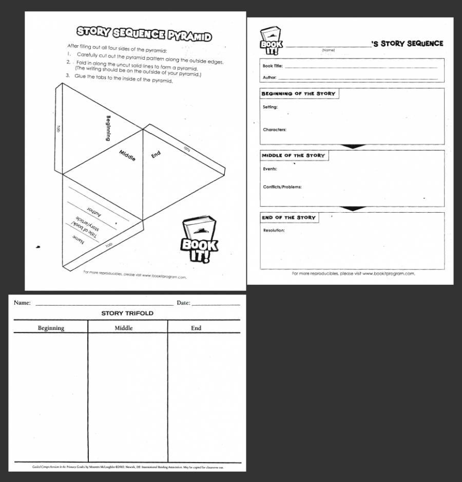 Sequence Story Worksheets Story Sequence Worksheets