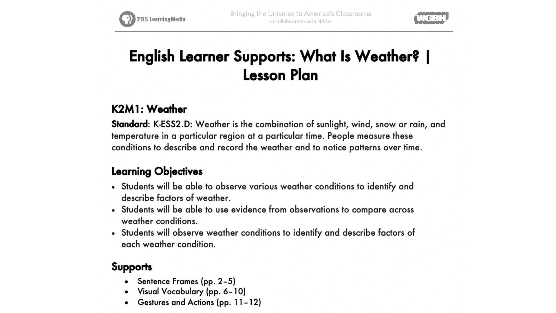 Severe Weather Worksheets What is Weather Lesson Plan