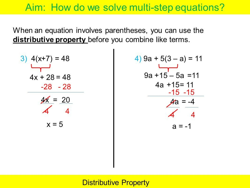distributive property with variables worksheet 6th grade