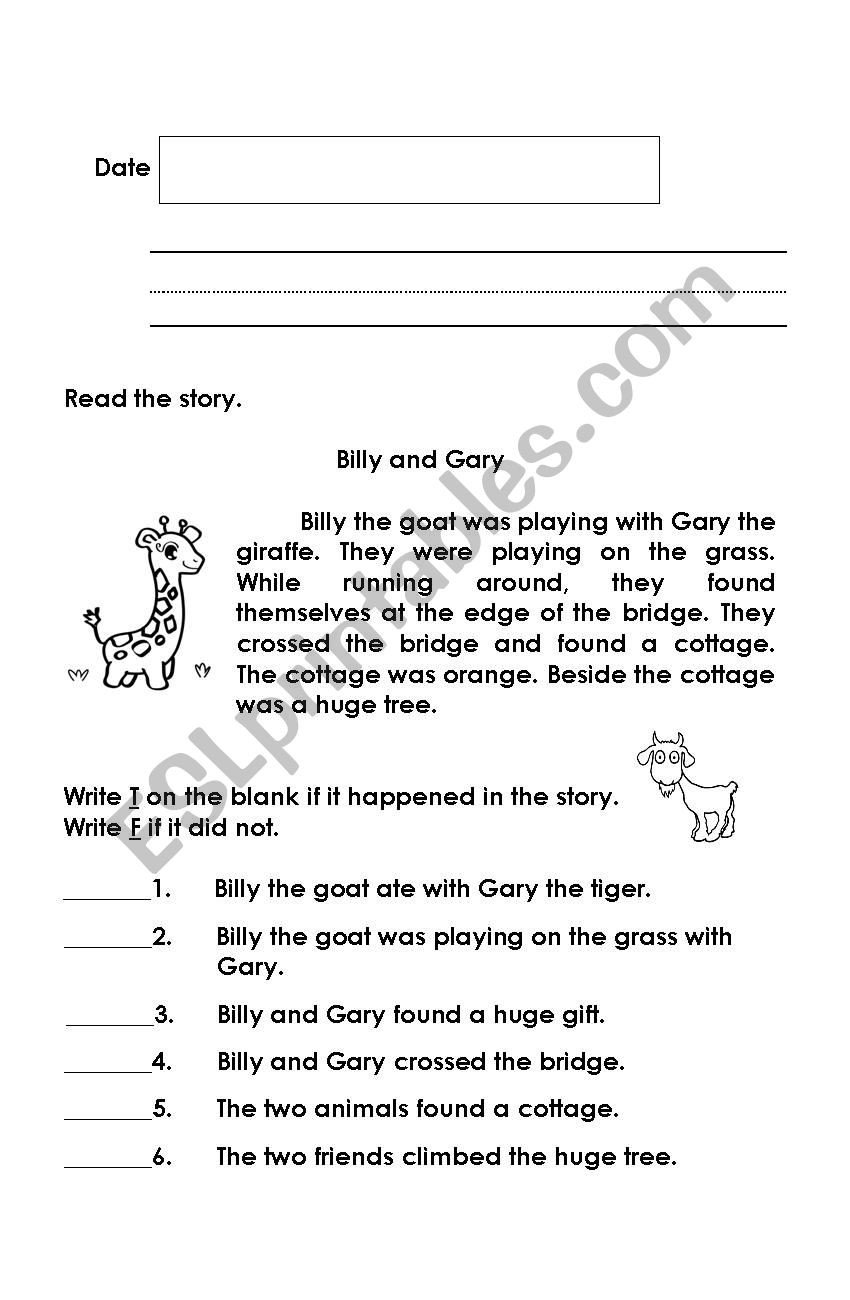Soft G Worksheet Hard G and soft G Story Esl Worksheet by Riazachyo