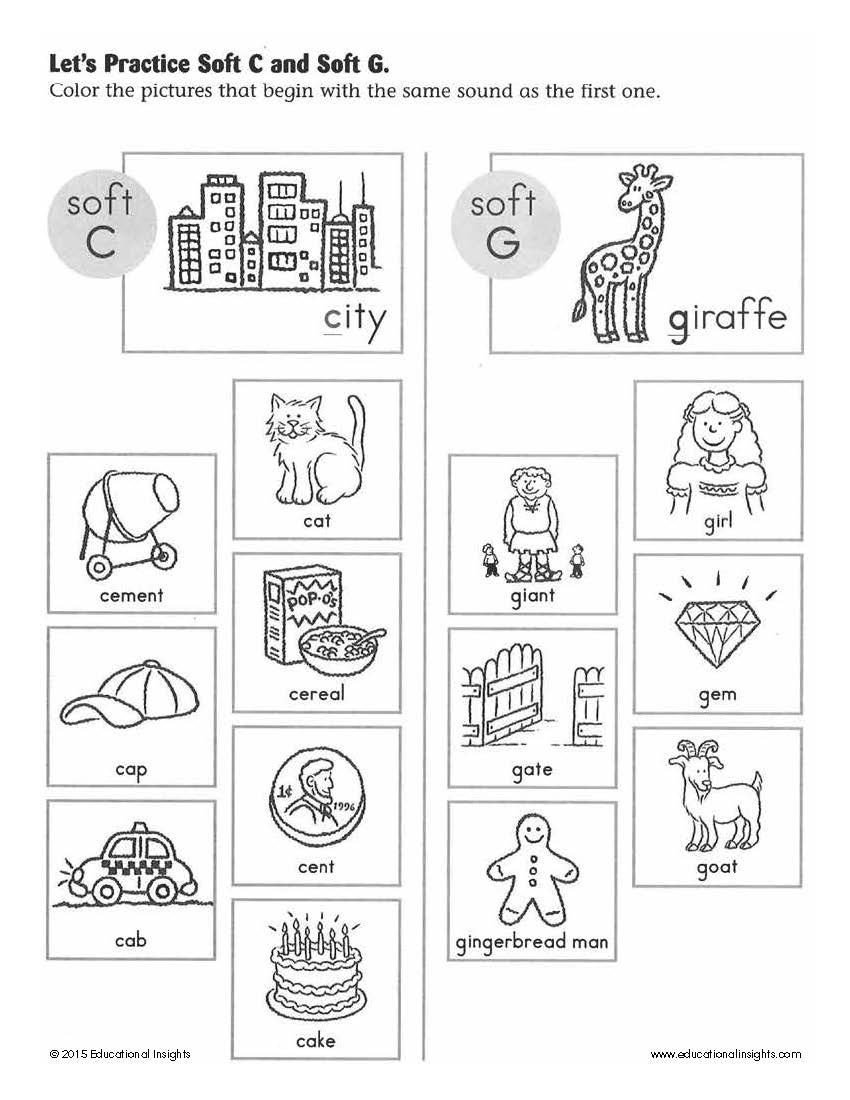 Soft G Worksheet This Summer Play Your Way to School Readiness Simple Tips