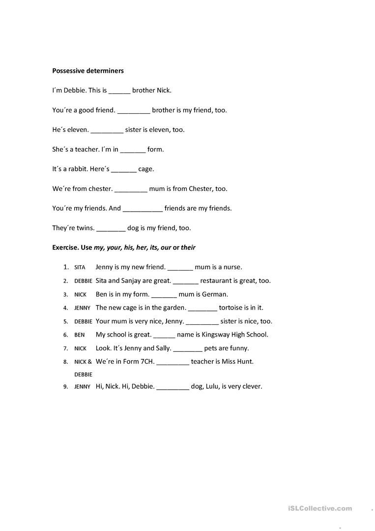 contractions verb to be conversation topics dialogs 3